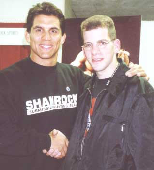 [Frank Shamrock, Ultimate Fighter!]